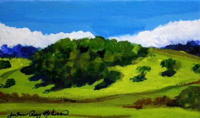 """""""The Hills are Alive"""" original fine art by JoAnne Perez Robinson"""