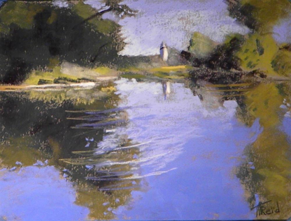 """Quiet reflections"" original fine art by Toby Reid"