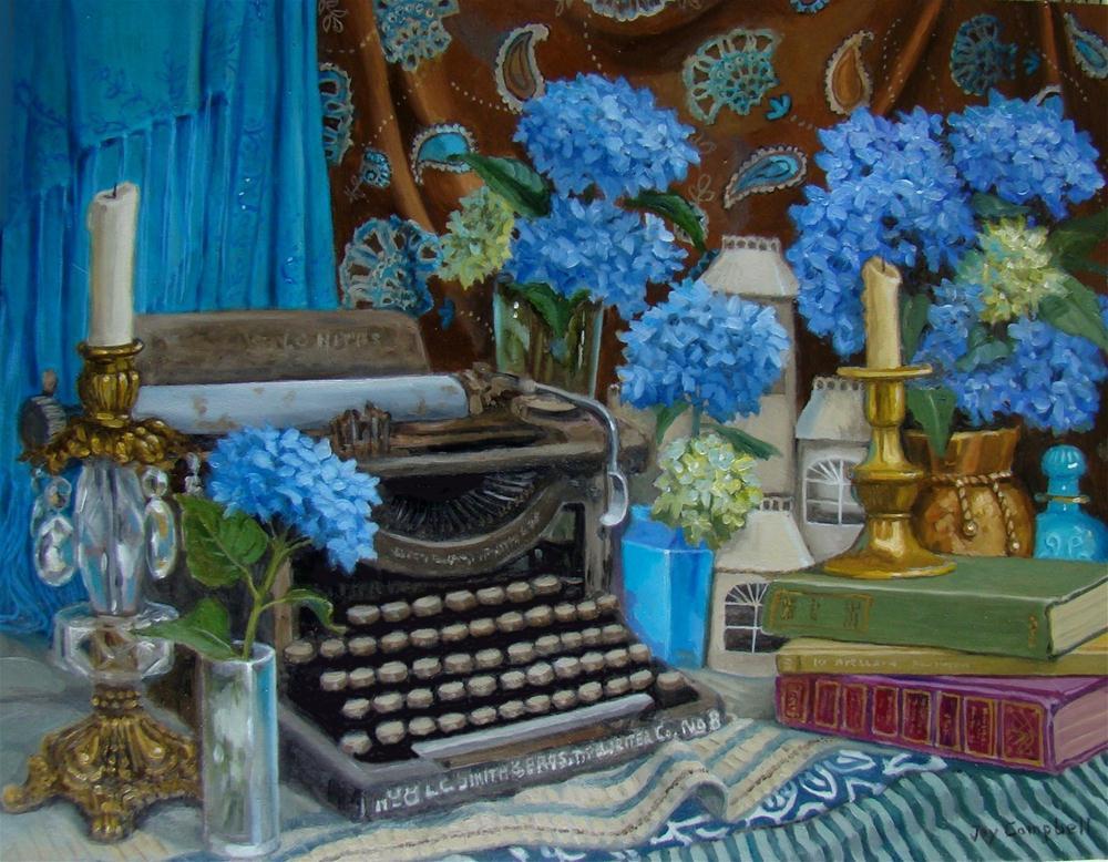 """A Distant Era"" original fine art by Joy Campbell"