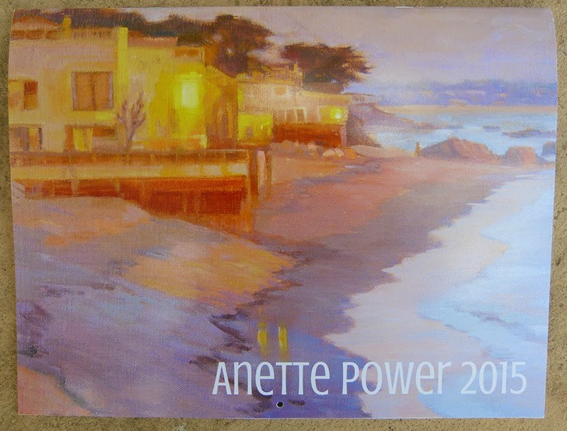 """2015 Calendar is here!!"" original fine art by Anette Power"