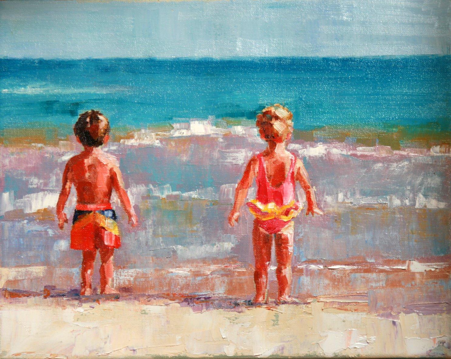 """you first"" original fine art by Carol Carmichael"