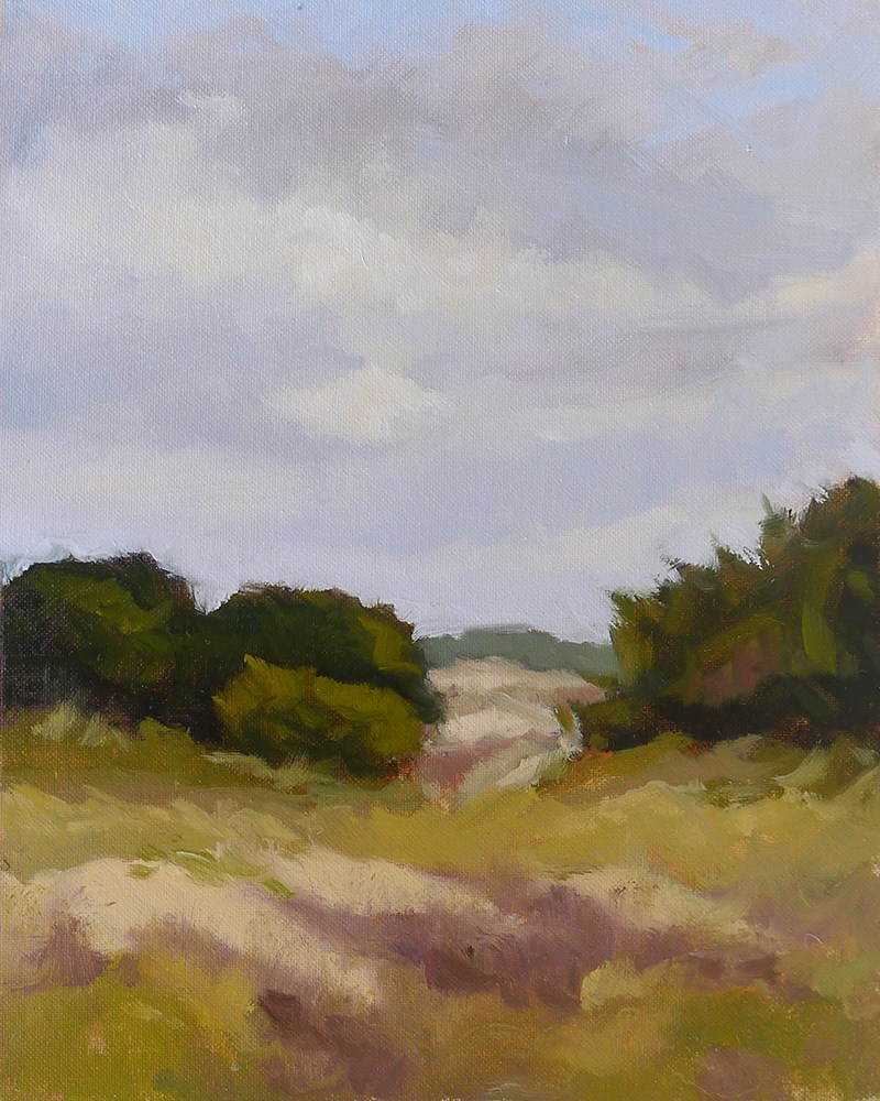 """East Beach Dunes"" original fine art by Adam Houston"