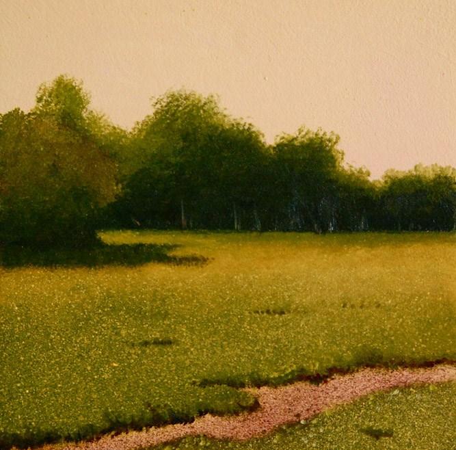 """""""SPRINGTIME"""" original fine art by Gerald Schwartz"""