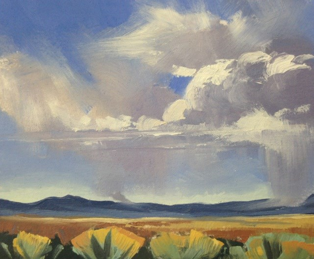 """Valley Storms 4"" original fine art by Mary Jabens"