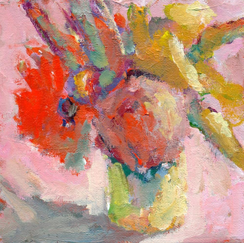 """""""bouquet"""" original fine art by Shelley Garries"""