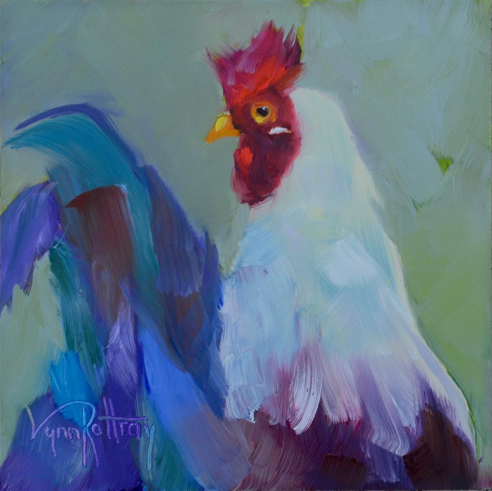 """""""Eye On You"""" original fine art by Lynn Rattray"""