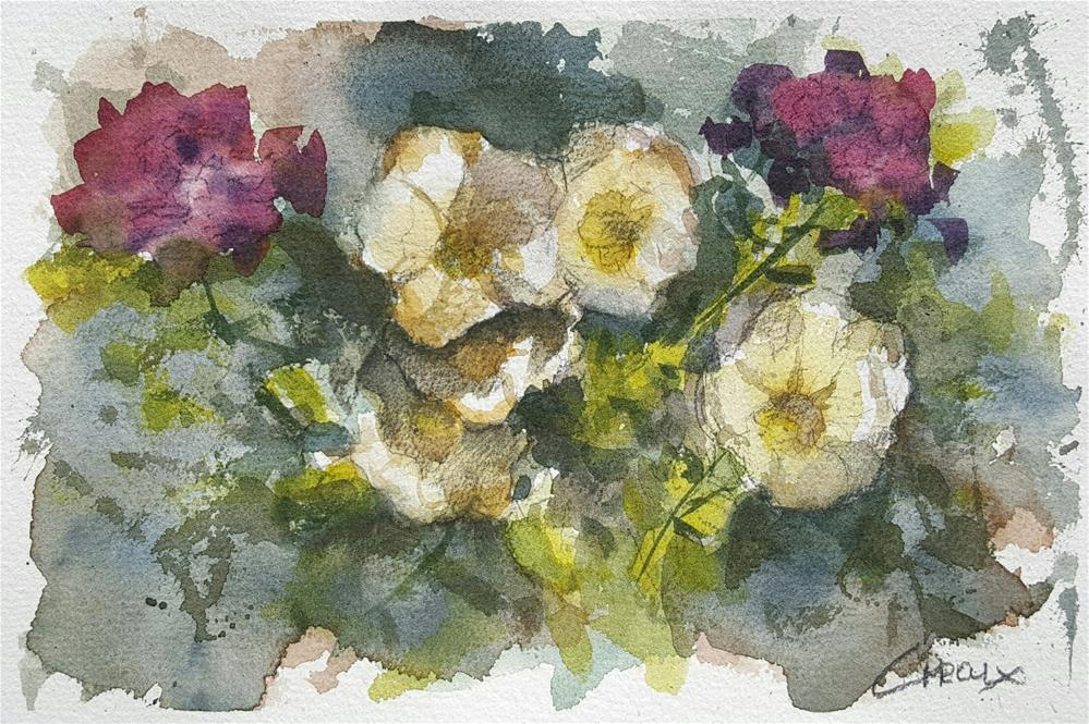 """Floral No.2"" original fine art by Cory Proulx"