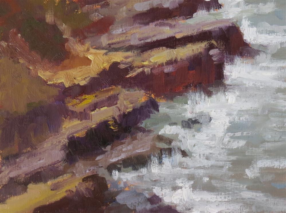 """""""Rattlesnake Ridge"""" original fine art by Pam Holnback"""