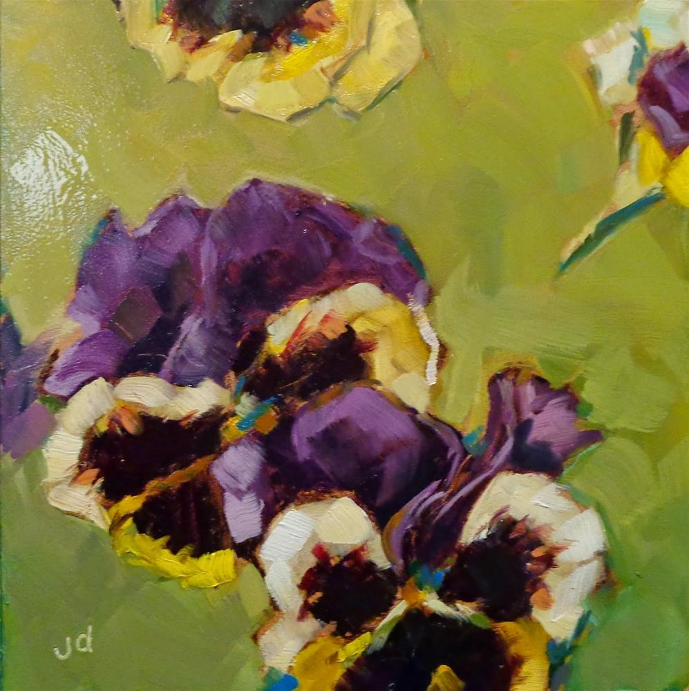 """Viola"" original fine art by Jean Delaney"