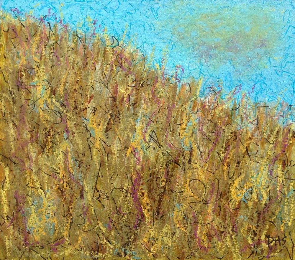 """""""Prairie Thanksgiving"""" original fine art by Dotty  Seiter"""