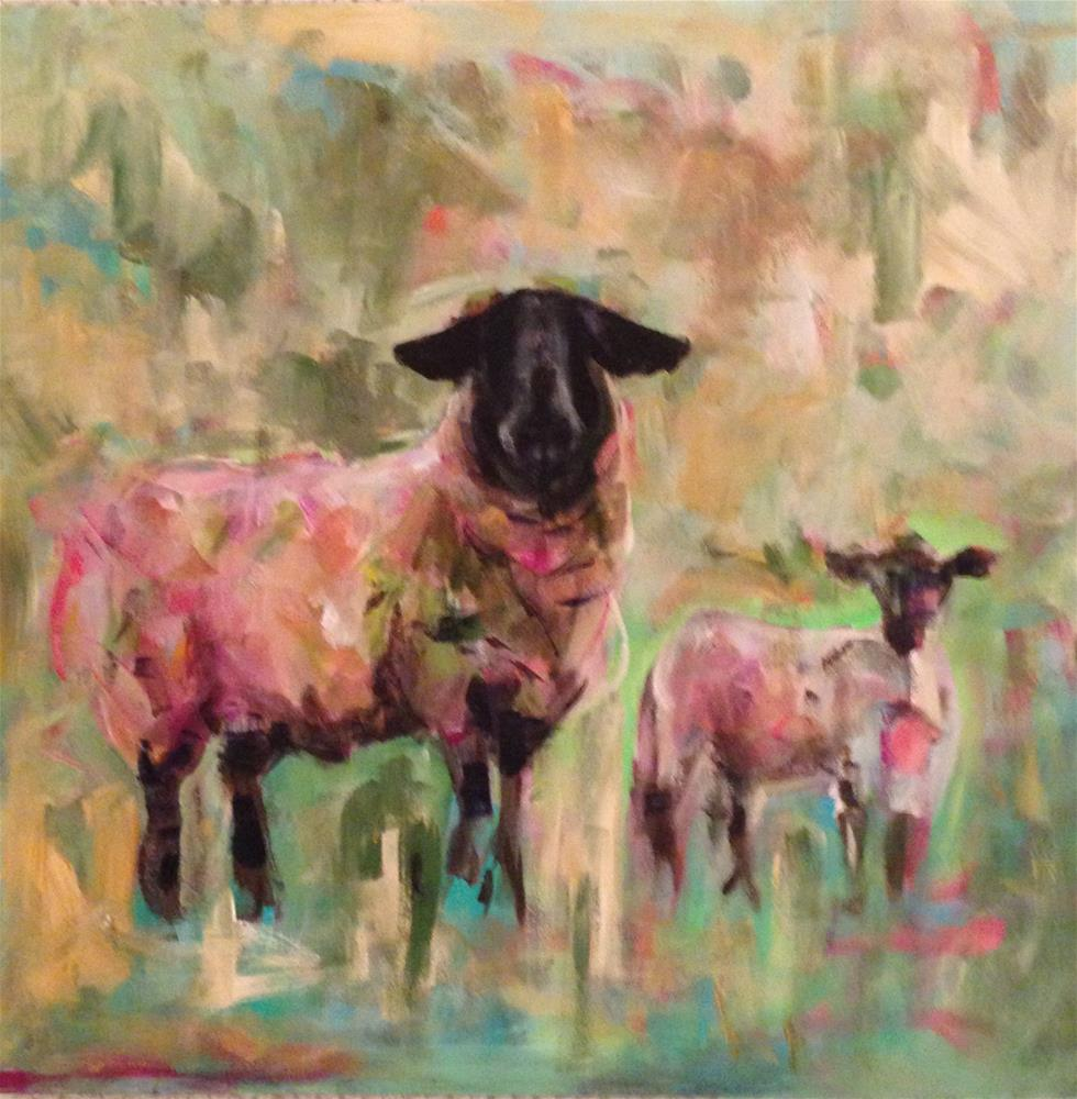 """Family"" original fine art by Molly Wright"