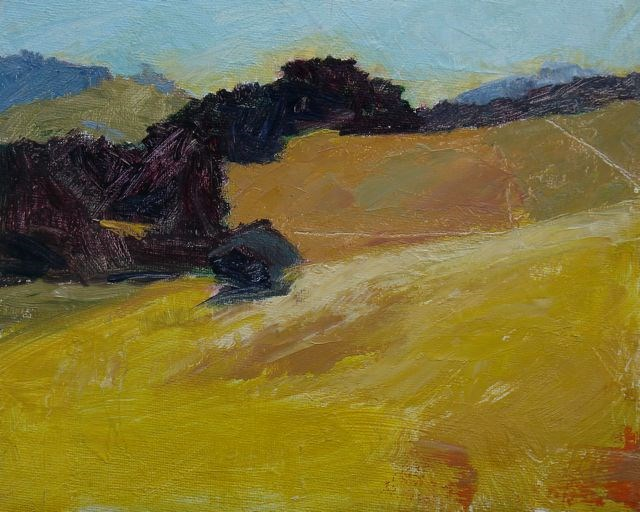 """Marin Hills"" original fine art by Susan Hammer"