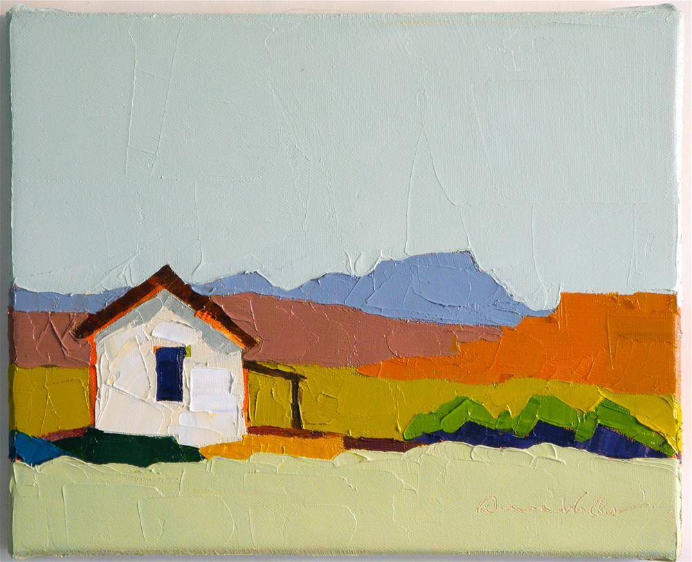 """""""Quiet Days"""" original fine art by Donna Walker"""