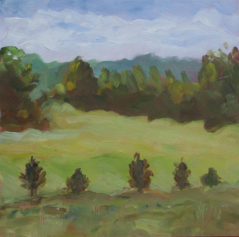 """""""First Day"""" original fine art by Maria McNitt"""