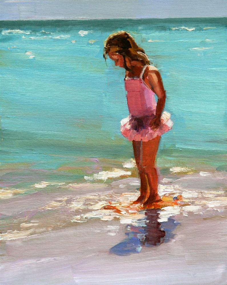 """glisten"" original fine art by Carol Carmichael"