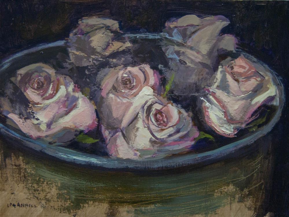 """Rose Bowl Study "" original fine art by Joseph Loganbill"