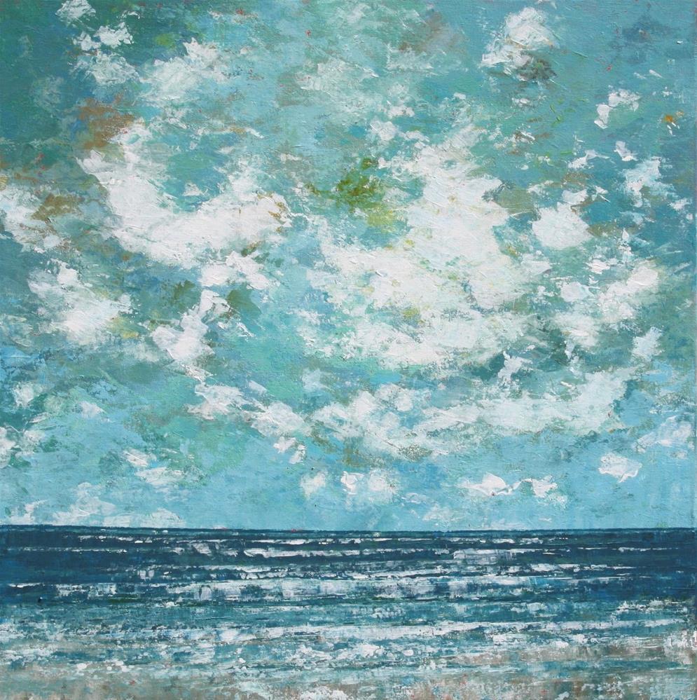 """Cool Ocean Breeze"" original fine art by Sage Mountain"
