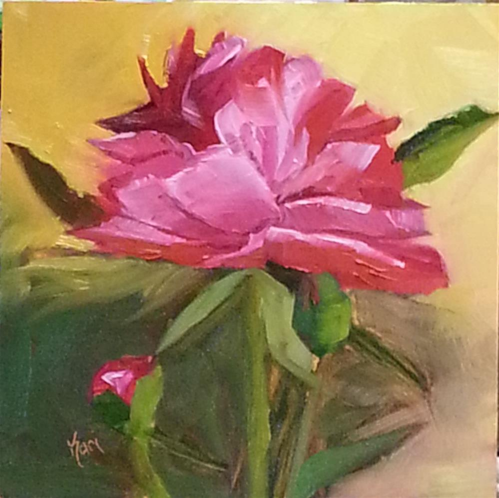 """Mother's Day Peony"" original fine art by Kari Melen"