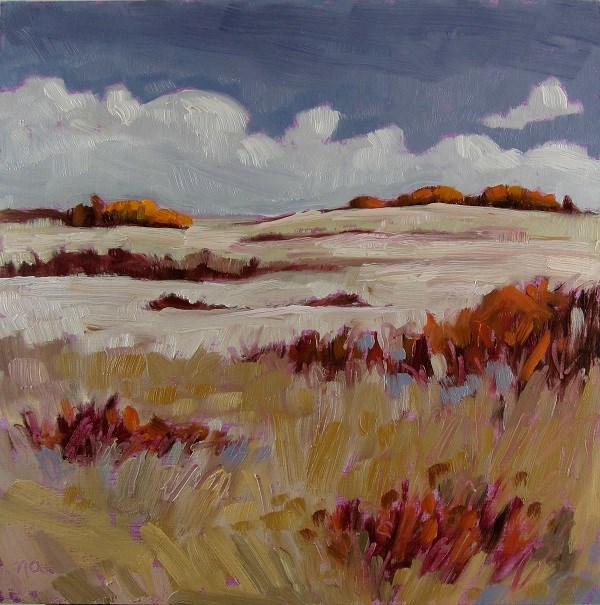 """Sweet Prairie"" original fine art by Nicki Ault"