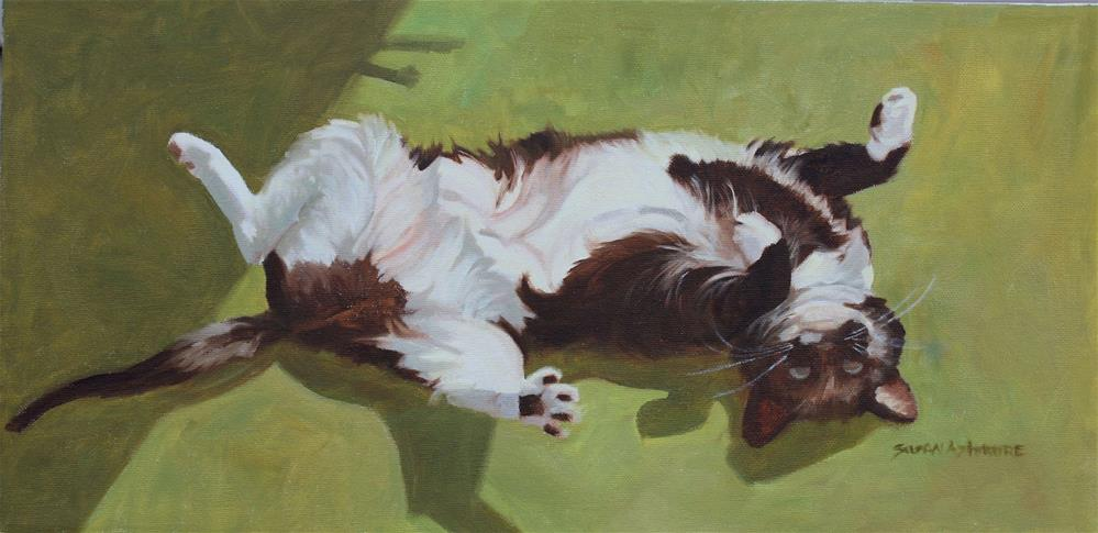 """Ivy"" original fine art by Susan Ashmore"