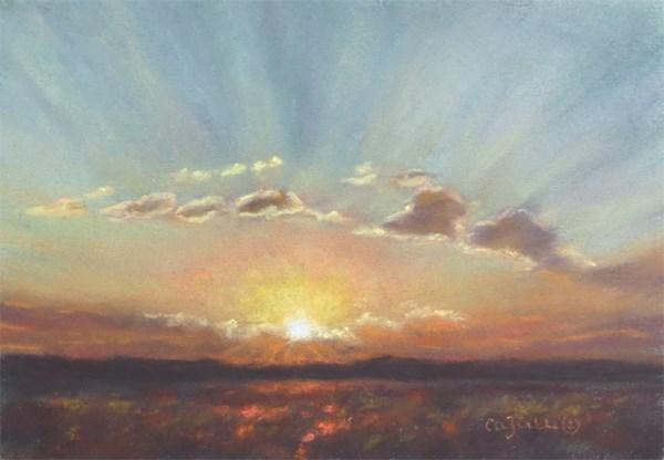 """Ready for a Great Day"" original fine art by Carol Zirkle"