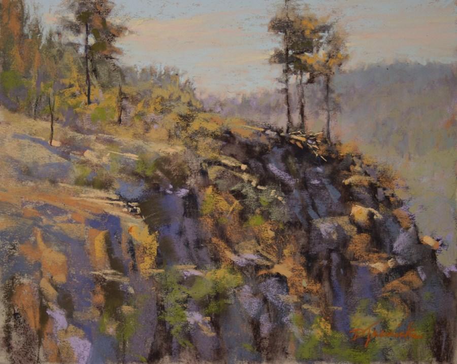 """Wide Open View (study)"" original fine art by Barbara Jaenicke"
