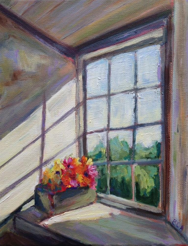 """Sunny Window"" original fine art by Beth Carrington Brown"