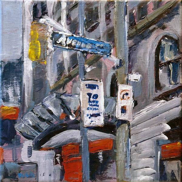"""0574 Avenue Road"" original fine art by Dietmar Stiller"