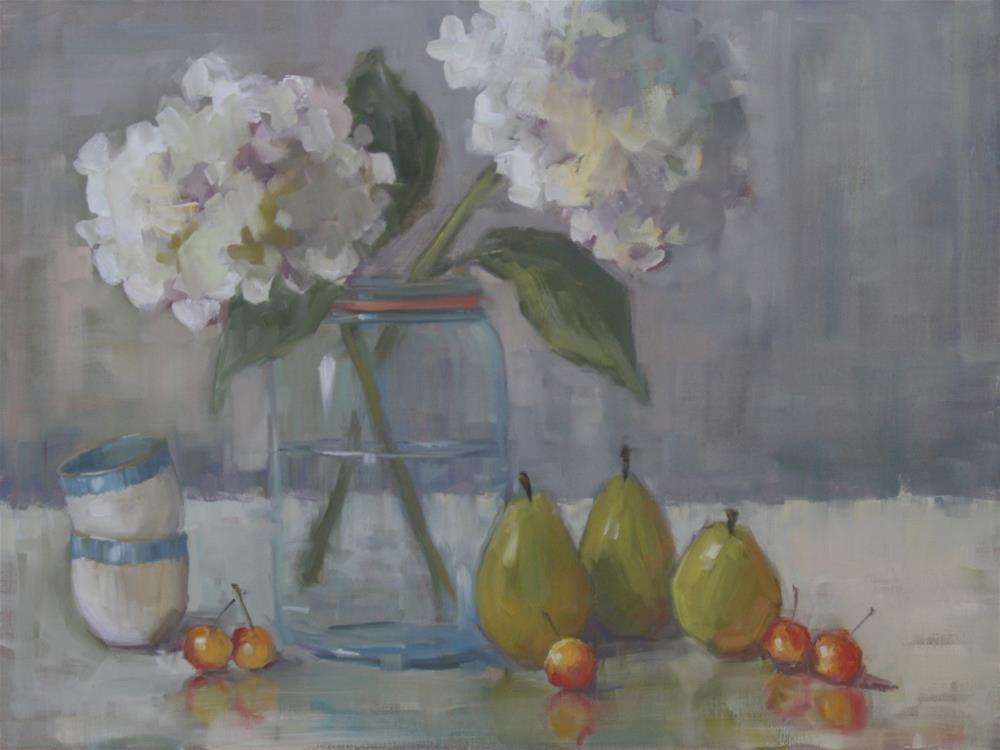 """bon appetit"" original fine art by Carol Carmichael"