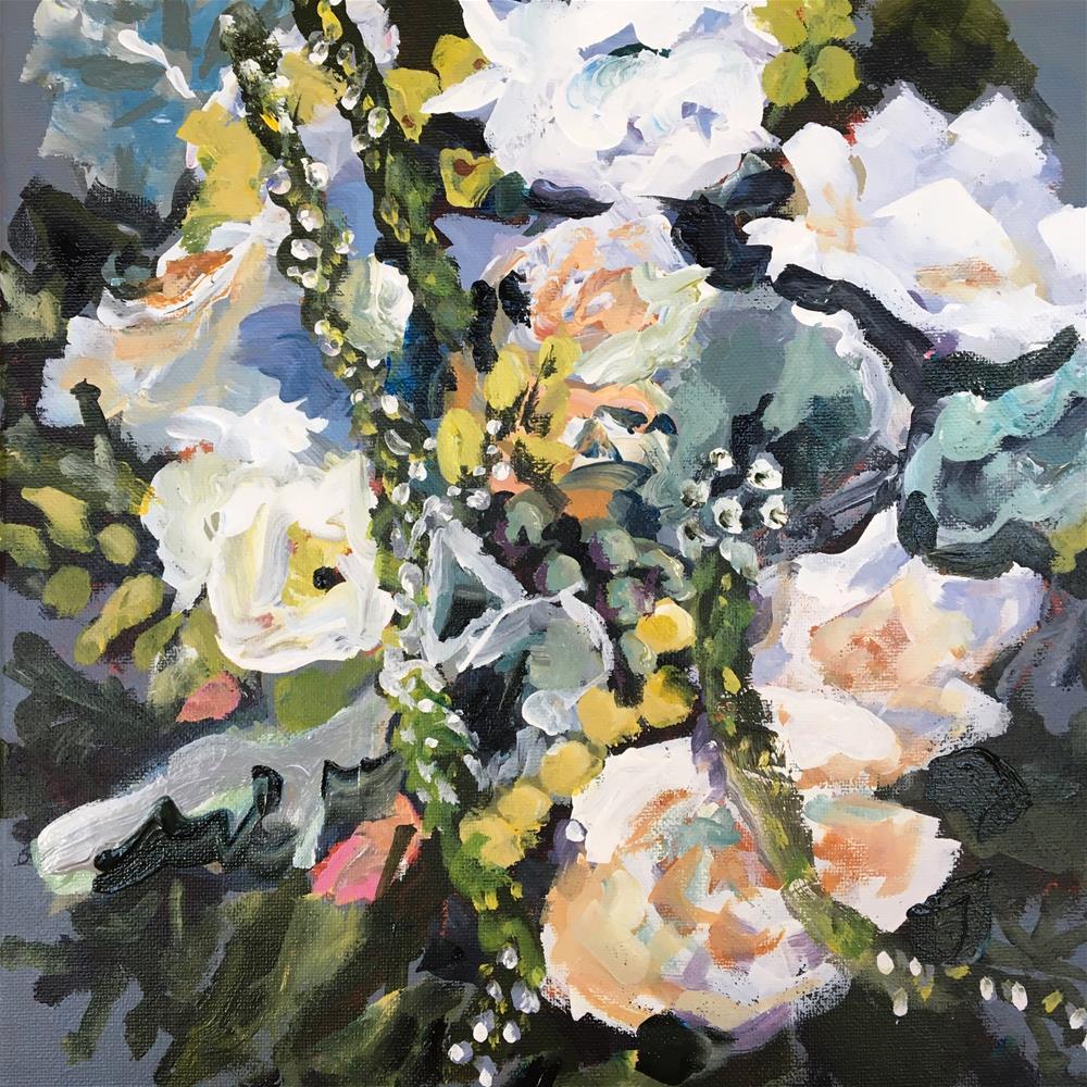 """Forsthoff Bridal Portrait"" original fine art by Susan Elizabeth Jones"