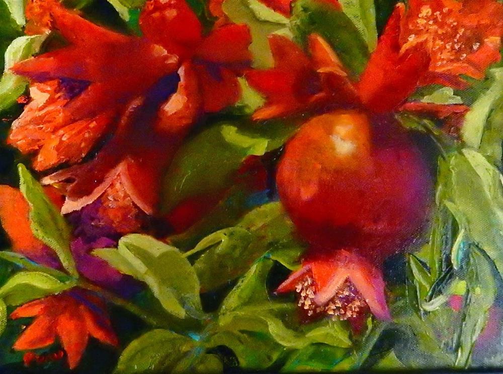 """Abundant Harvest"" original fine art by Phyllis Davis"
