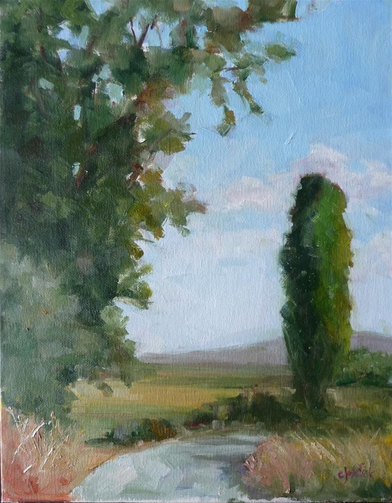 """Tuscany"" original fine art by Carol Josefiak"