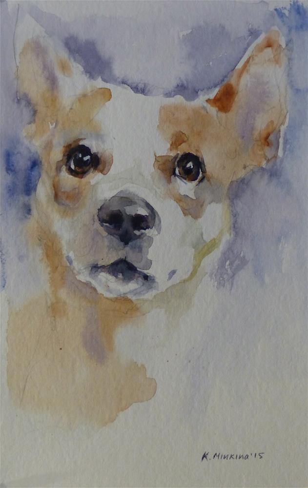 """adopt117"" original fine art by Katya Minkina"