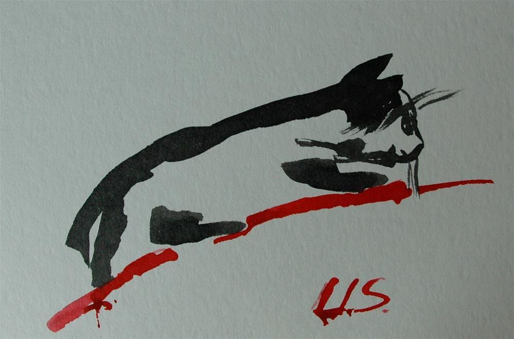 """Upward"" original fine art by Ulrike Schmidt"