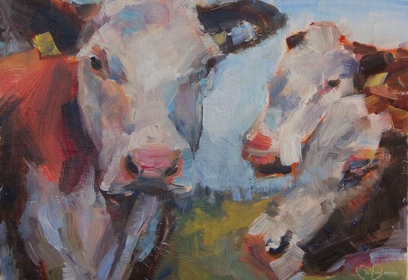 """Ladies Man"" original fine art by Carol DeMumbrum"