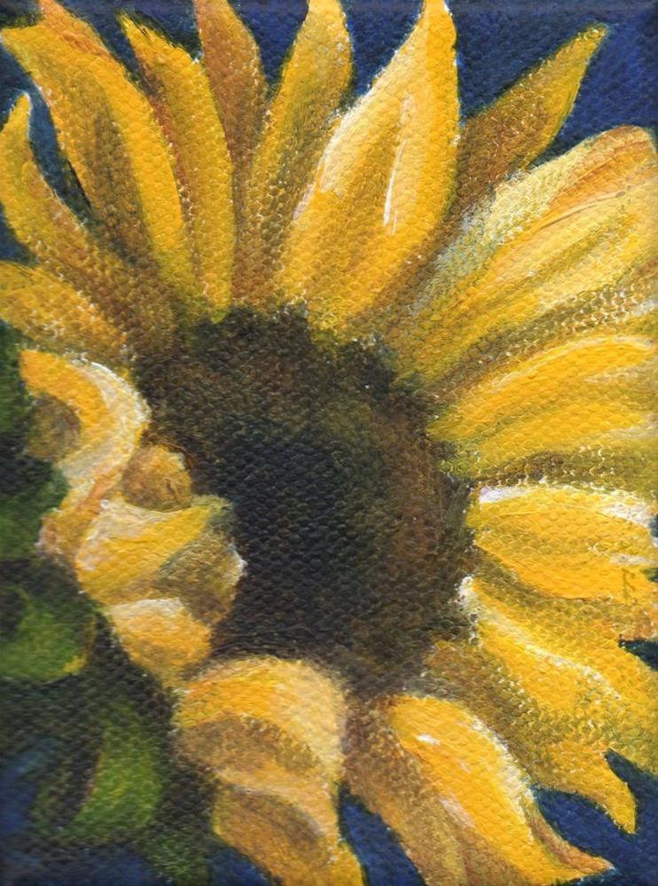 """Sunny Day"" original fine art by Debbie Shirley"