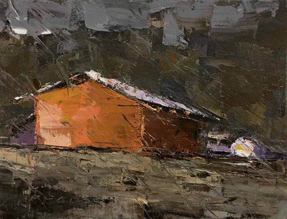 """0891/DPW"" original fine art by Dennis Pearson"