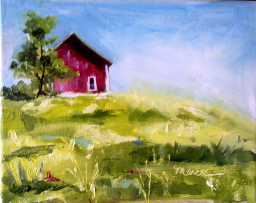 """Living in the Country"" original fine art by Marcia Hodges"