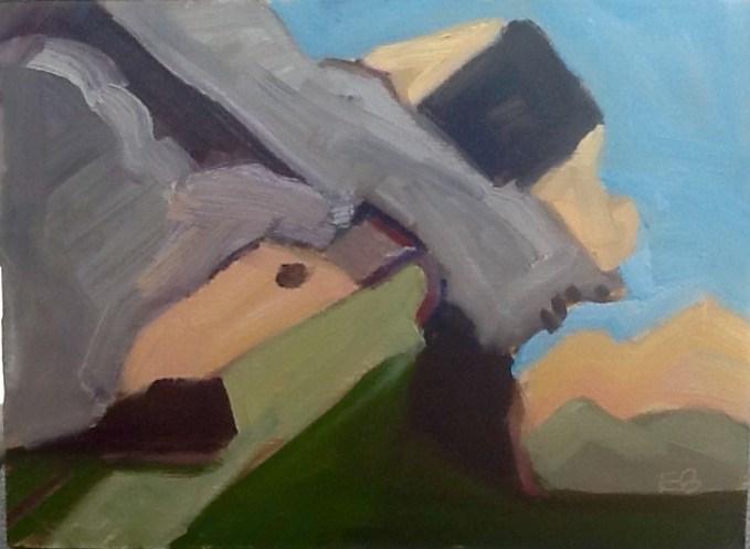 """""""Halibut Point # 2"""" original fine art by Elizabeth Bish"""