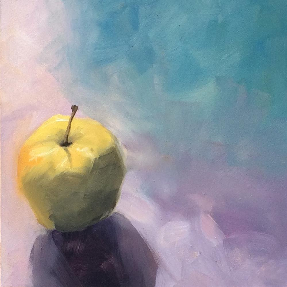 """Golden Delicious Dreams"" original fine art by Philla Barkhorn"