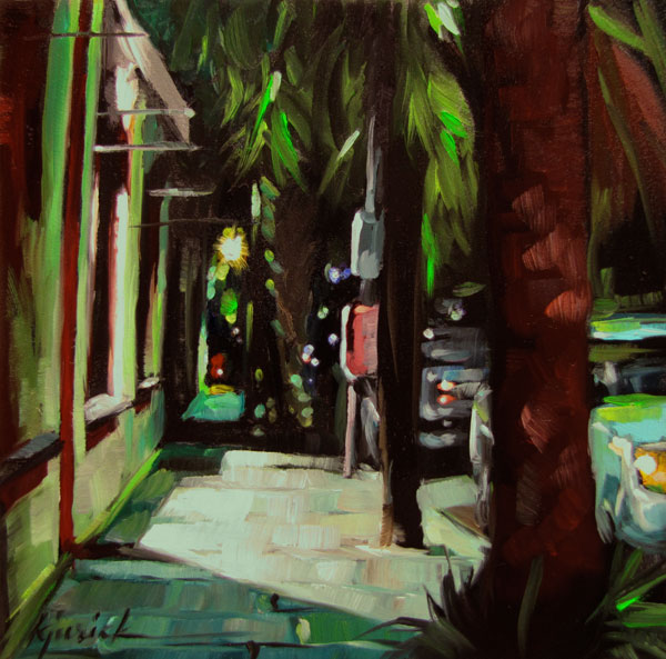 """East Bay Walk"" original fine art by Karin Jurick"