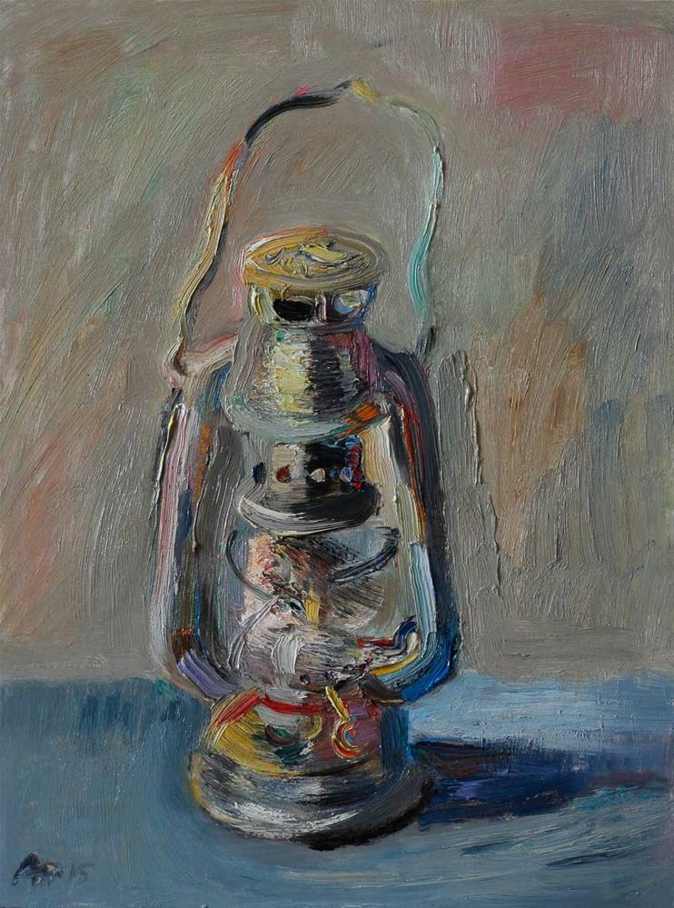 """Oil Lamp"" original fine art by Anna  Fine Art"