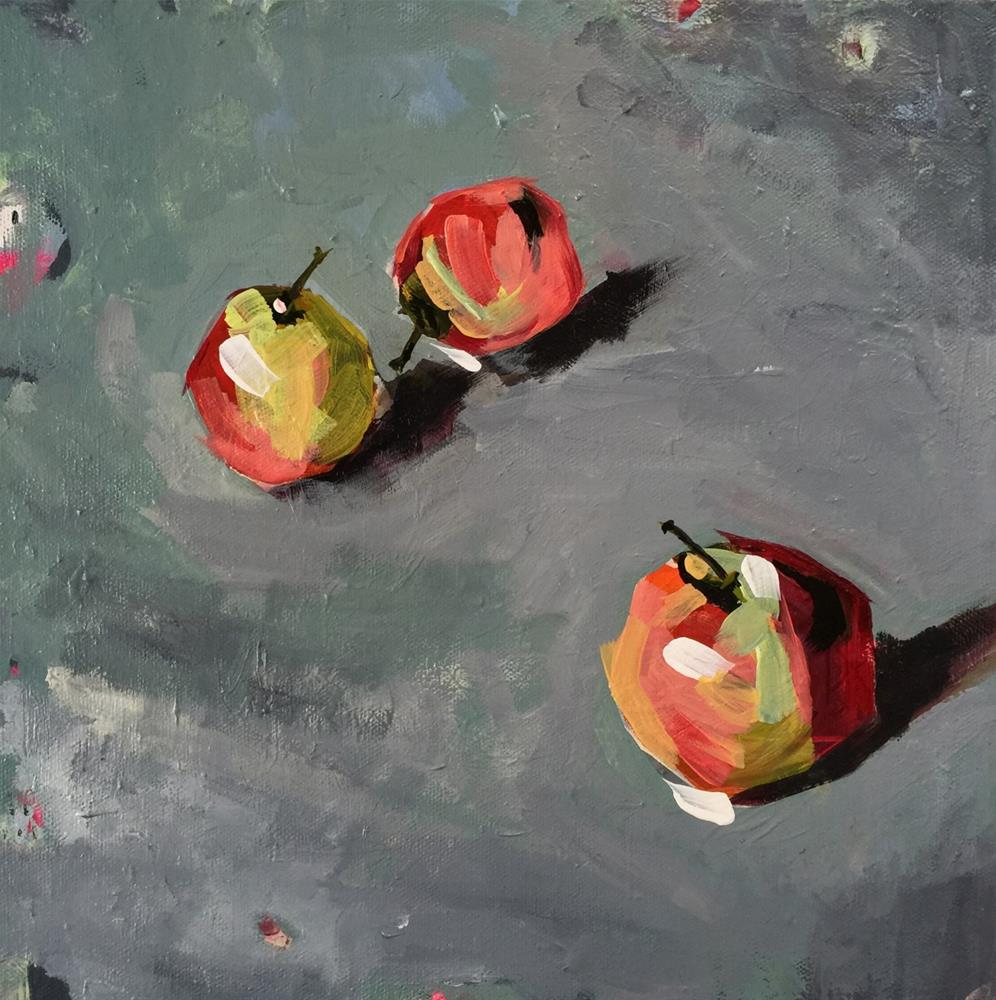 """36 Them Apples"" original fine art by Jenny Doh"