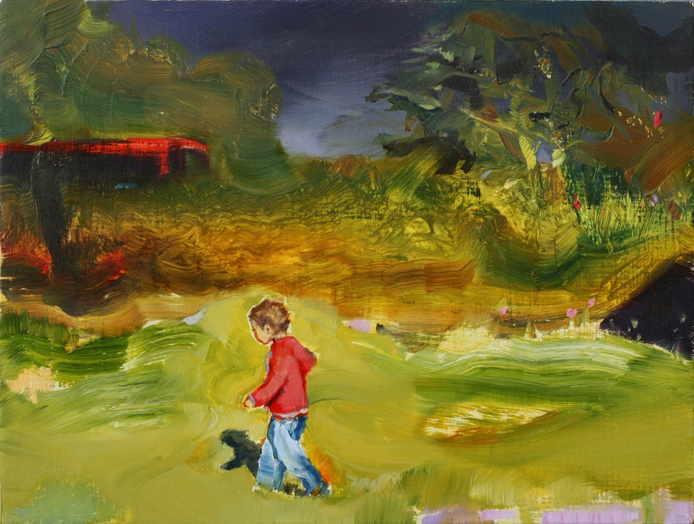 """Lordship lane"" original fine art by Eszter Szicso"