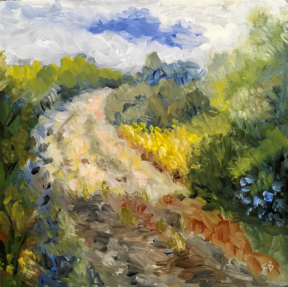 """132 The Road Home"" original fine art by Fred Bell"