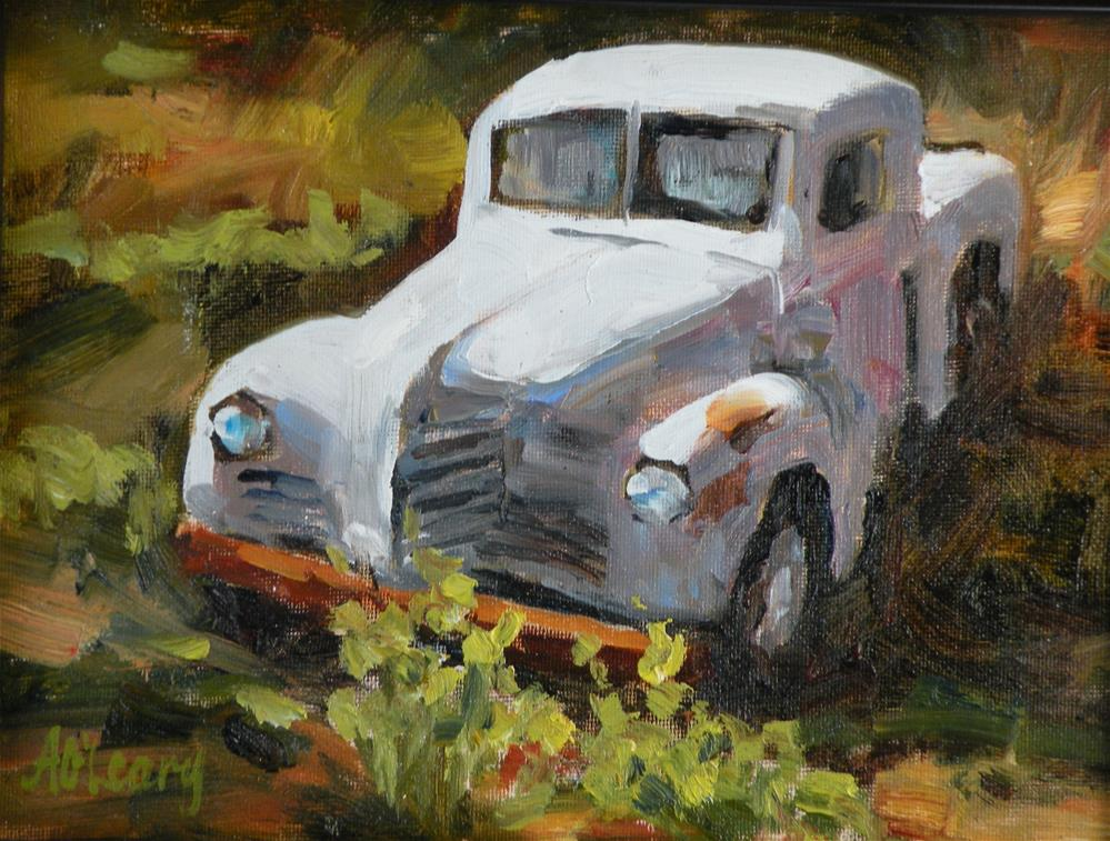 """""""Out to Pasture"""" original fine art by Alice O'Leary"""