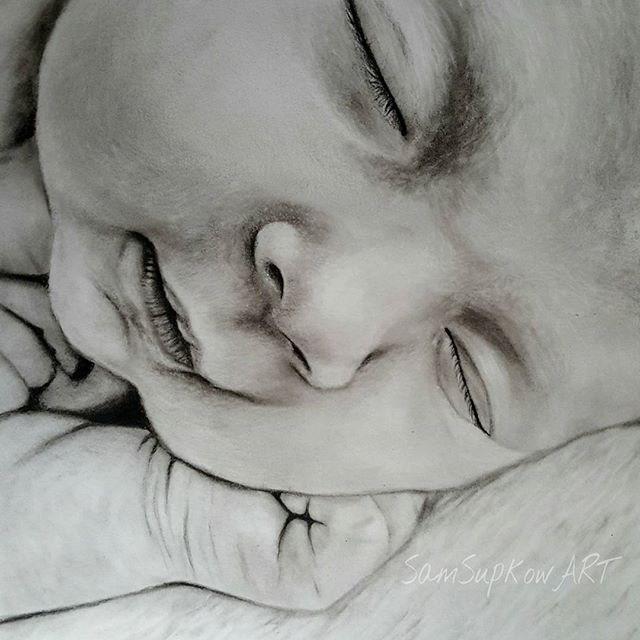 """""""Emily"""" original fine art by Sam Supkow"""