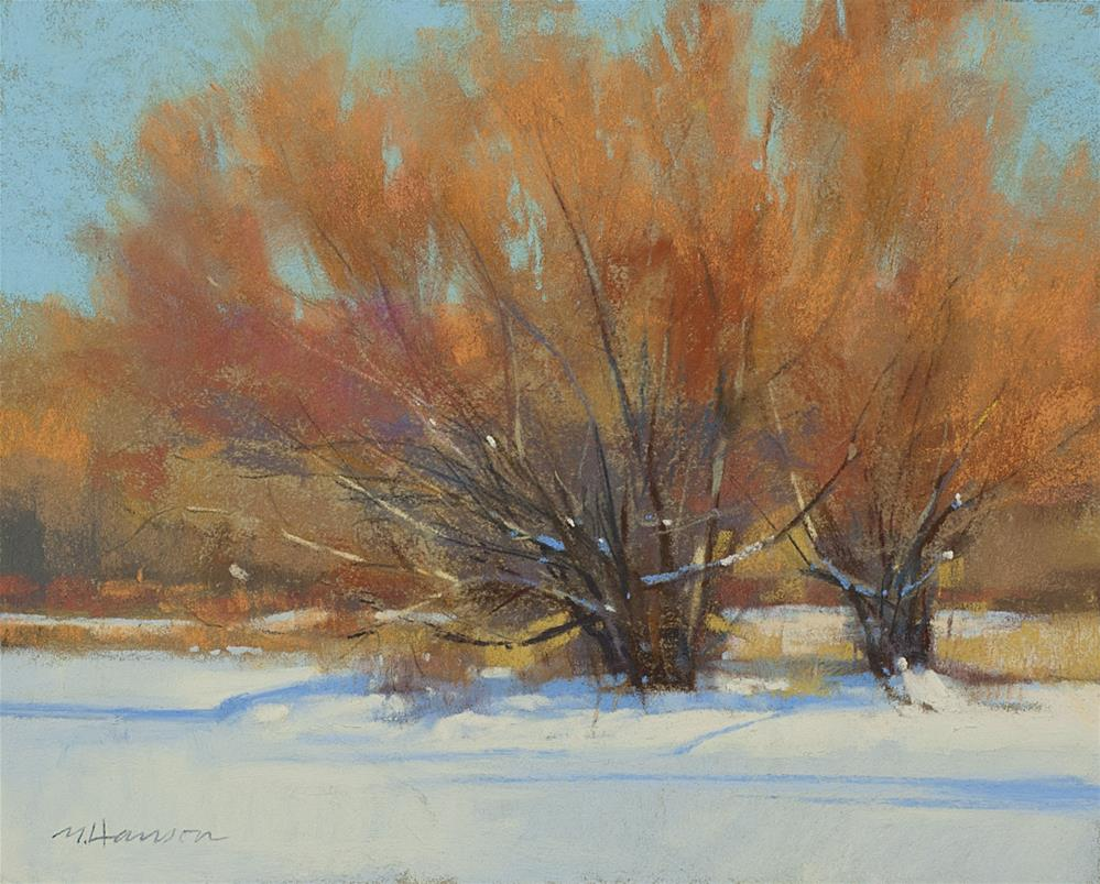 """2-11-4 Willows"" original fine art by Marc Hanson"