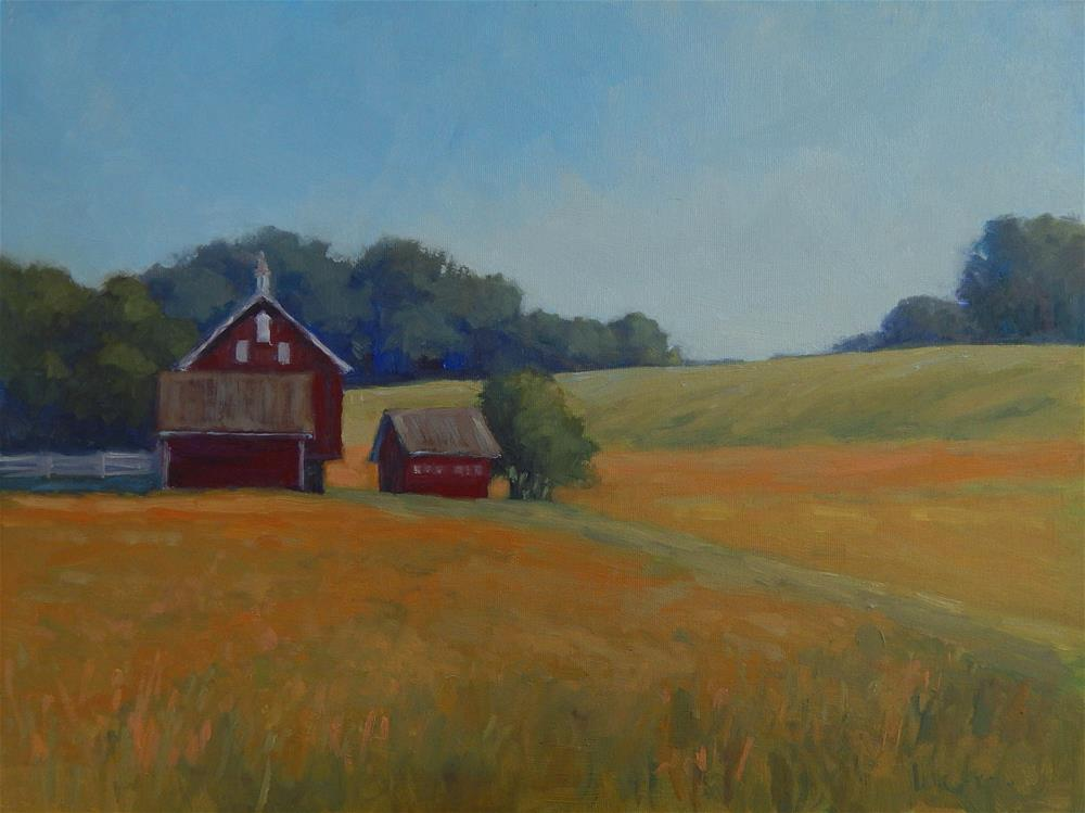 """Gettysburg Farm"" original fine art by Lisa Kyle"