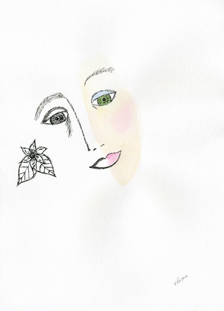 """Thankful"" original fine art by Kali Parsons"
